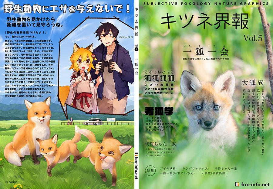 キタキツネ写真集「キツネ界報」Vol.5