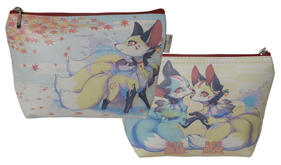 九尾の狐ポーチ「賜望」