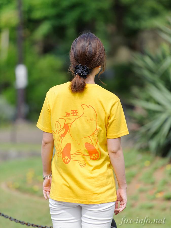 キツネTシャツ